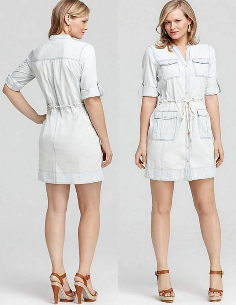 7d9bc51f06ab2 Gotta Have It  Michael Michael Kors Denim Dress