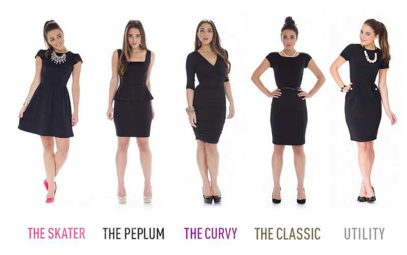Penny CHic for Walmart Little Black Dress collection in plus sizes
