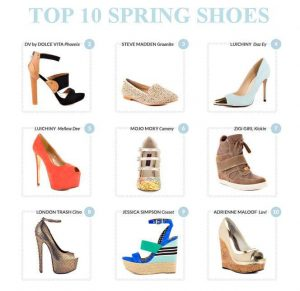 Heels.com Top Ten Spring Picks