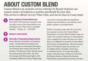 Prescriptives Online Custom Blend Review