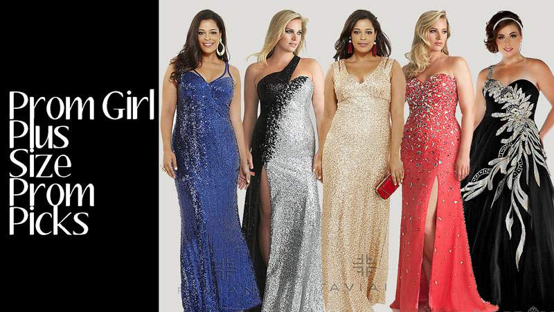 A Plus Size Prom- Dress Ideas and Where to Shop
