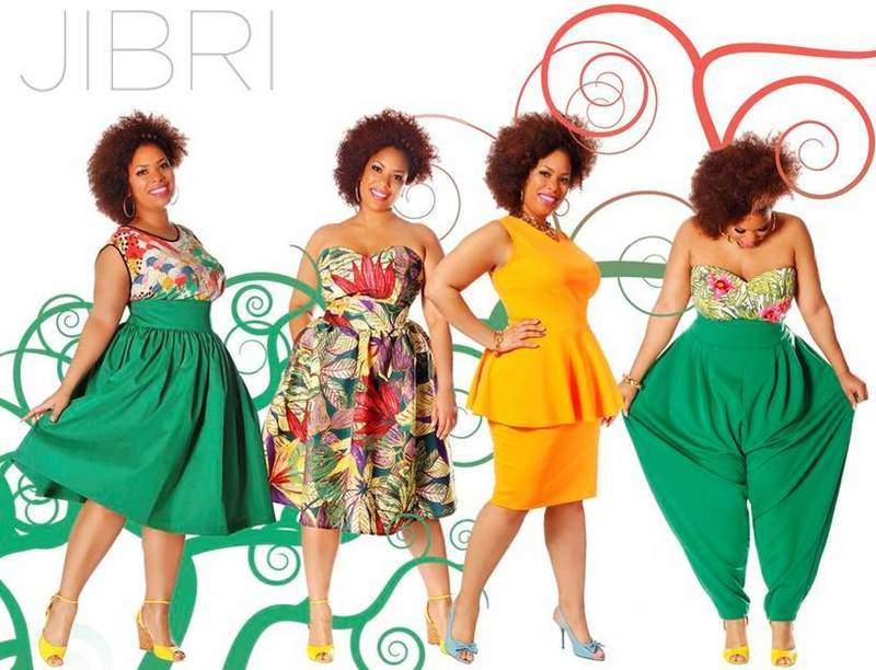 Plus size designer Jibri Spring 2013