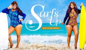 Monif C Plus Sizes Swim: Island Gypsy 2013 Collection