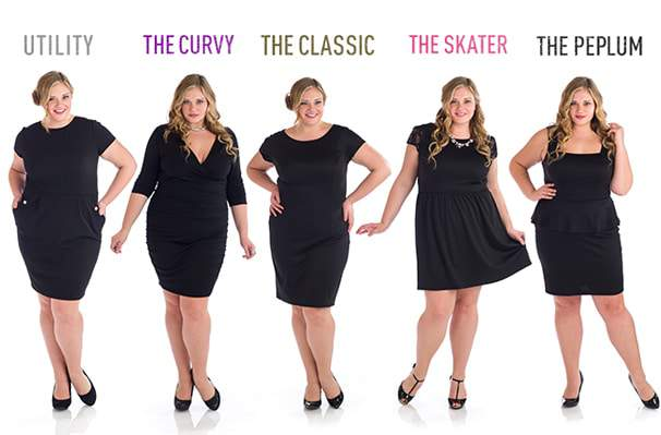 Blogger Penny Chic Brings her LBD Collaboration to Plus Sizes
