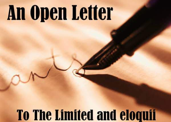An Open Letter to the Limited Brands and Eloquii