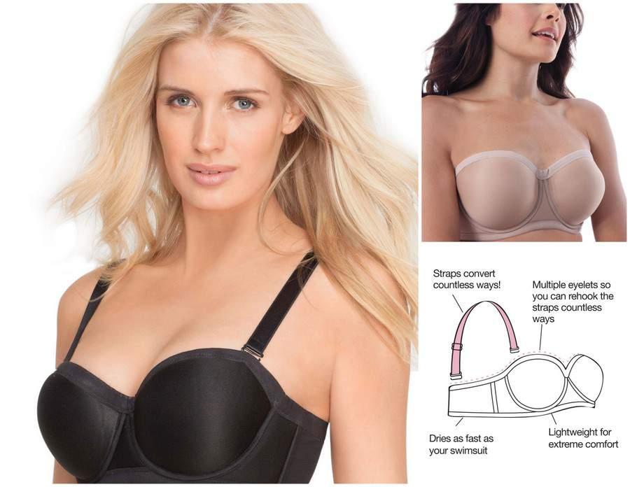 Wardrobe Wonders: The Plus Size Swim Bra by Comfort Choice at FullBeauty.com