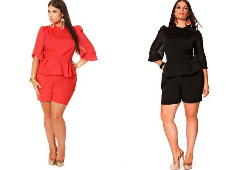 Monif C Plus Sizes Maria Romper