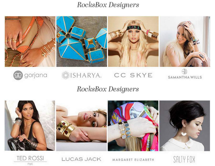 Rocksbox Jewelry Subscription Based Service
