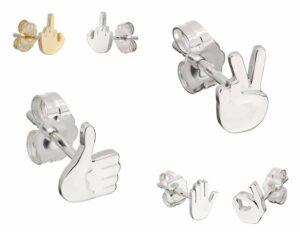 Wendy Brandes Emoji Earrings