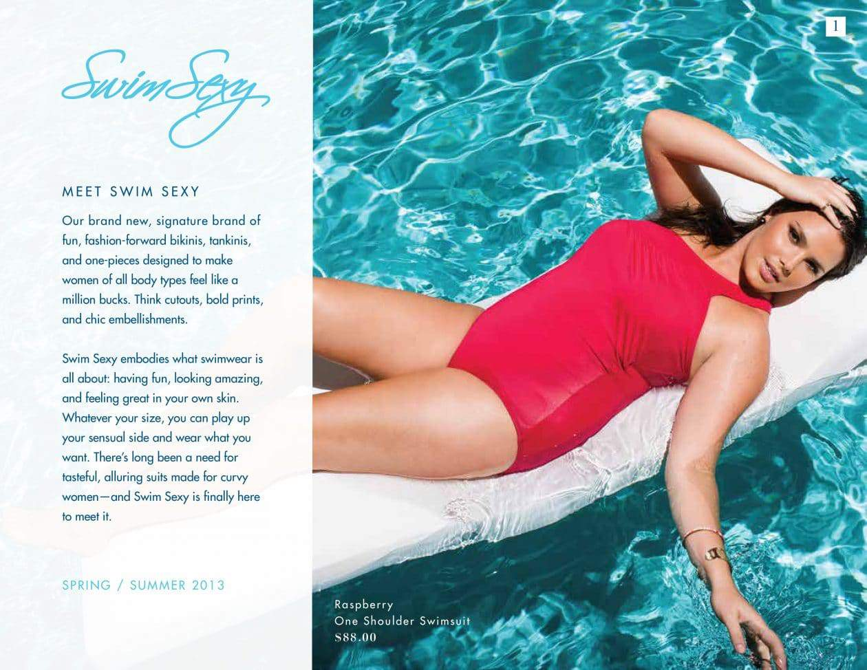 bb73d183c5692 Plus Size Swim Sexy Collection at Swimsuits for All  Summer 2013 Look Book