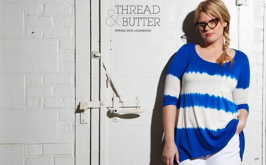 First Look: Chillaxing in New Plus Size Label, Thread and Butter