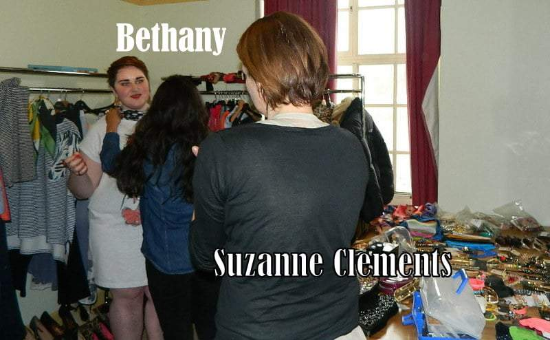 Behind the Scenes Clements Riberio for EVANS designer plus size collaboration