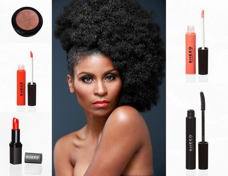 SHEEQ Cosmetics Model in Spring 2013 Coral Lip Trend