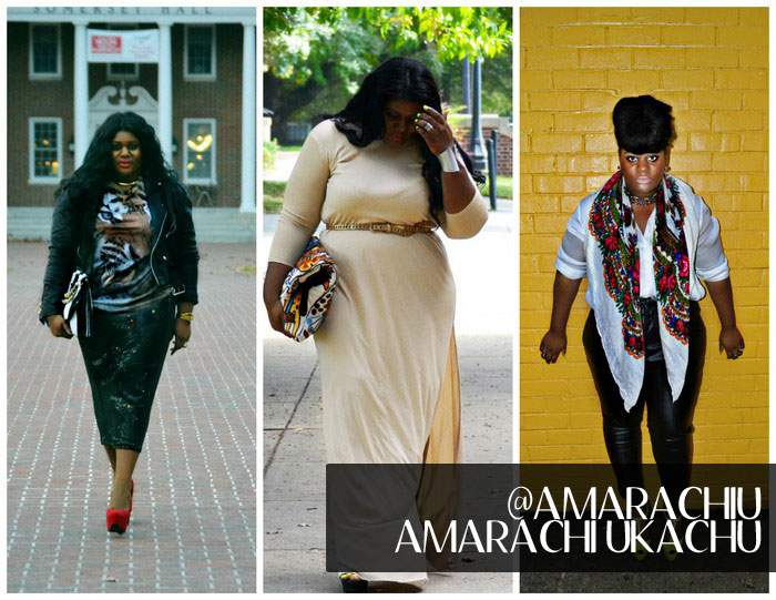 FIVE Plus Size Personal Style Bloggers to Watch: Amarachi Ukachu, plus size blogger
