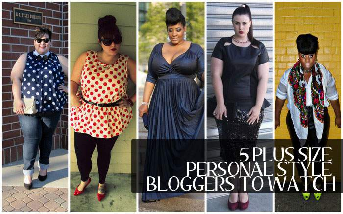 FIVE Plus Size Personal Style Bloggers to Watch, plus size blogger