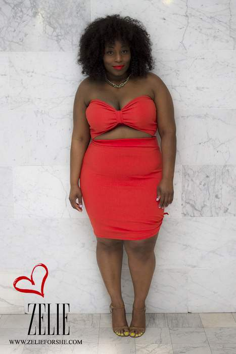 Plus Size Blogger Elann Zelie Launches second Collection Made With Love- Zelie for She