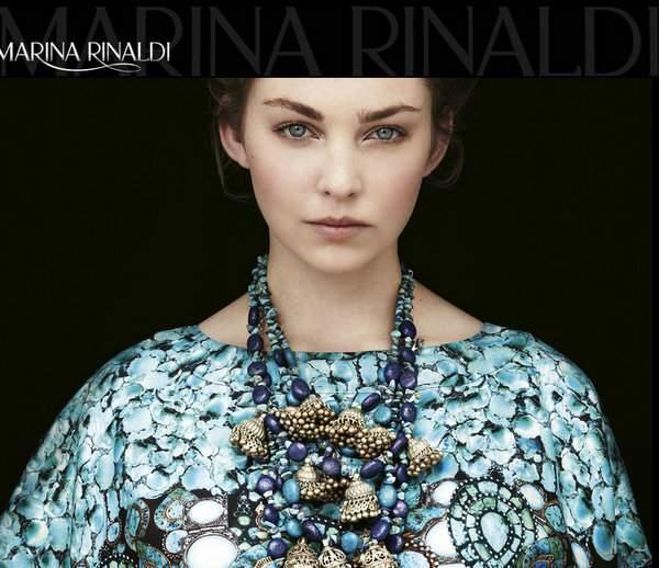 Plus Size Luxury Designer: Marina Rinaldi