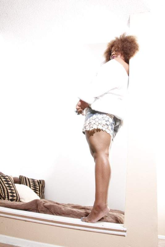 My Style: asos curve lace and denim  shorts