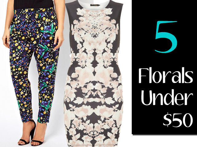 Five Floral Faves under $50