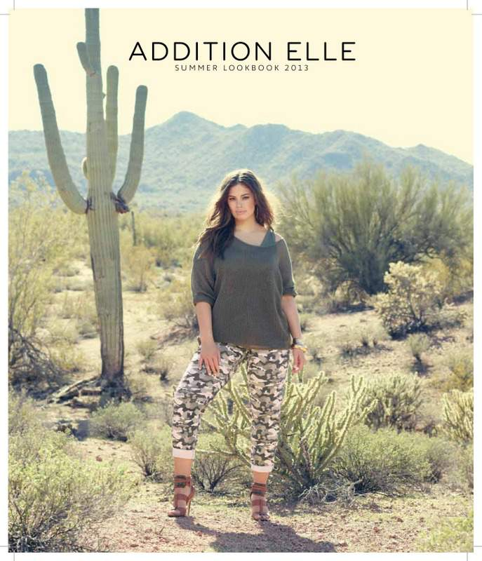 Addition Elle Spring Summer 2013 Plus Size Look Book