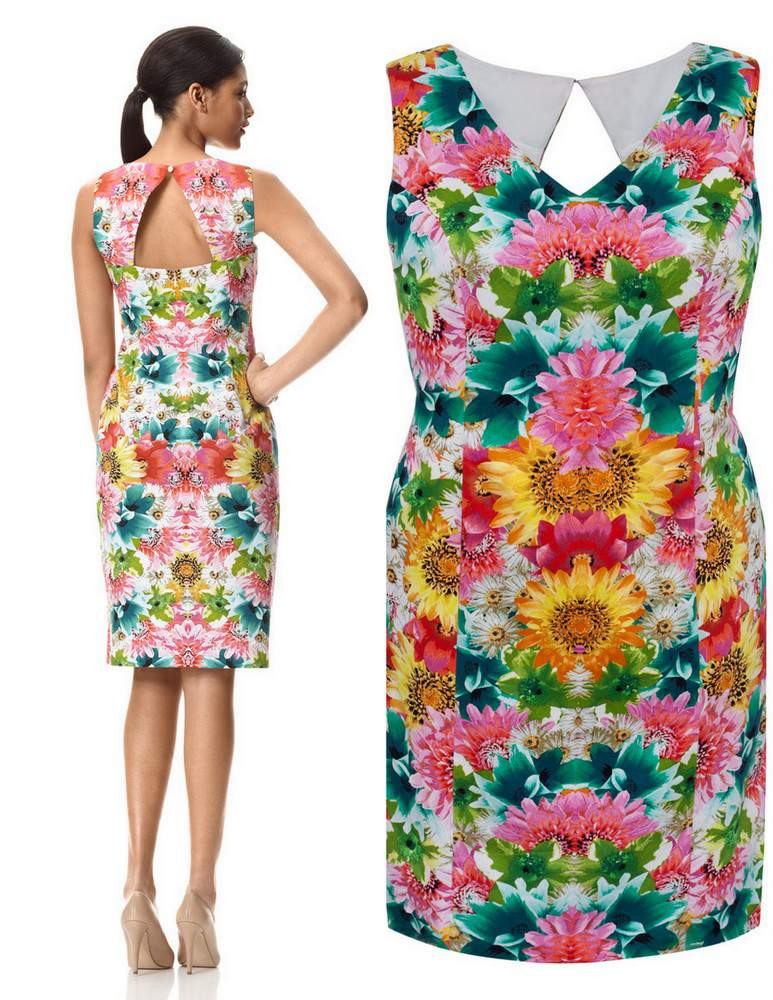 Plus Size Garden Dress from London Times