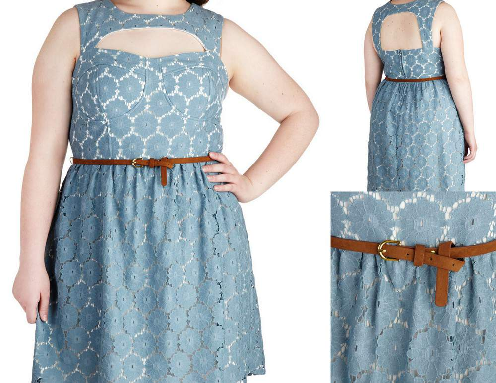 Gotta Have It: ModCloth Plus Size Follow the Flower Dress