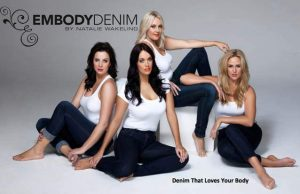 Australian plus size designer, Embody Denim Releases Hollywood Lights, an Embody Denim Clothing Collection