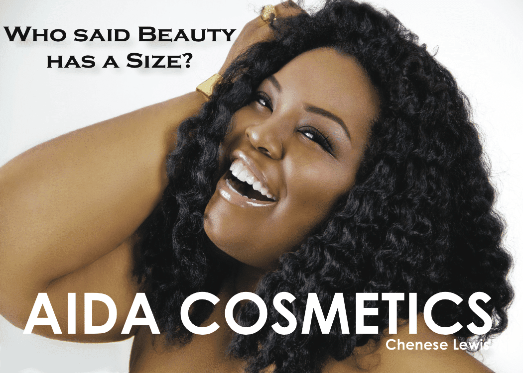 Confidence and Glamour Campaign by Aida Cosmetics featuring Chenese Lewis