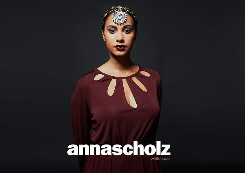 Anna Scholz Plus Size White Label Fall 2013 Collection