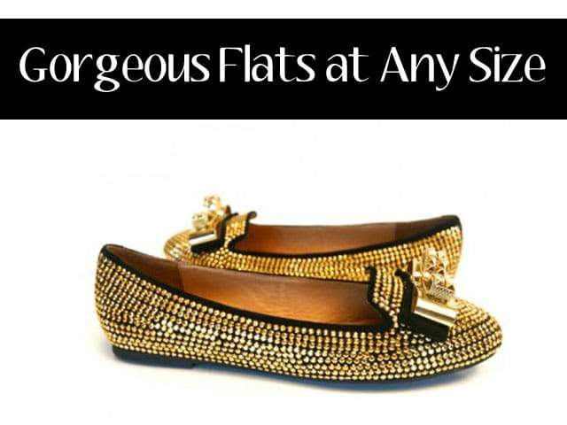 Flats over a size 10