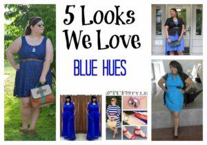 Five Plus SIze Looks We Love- Blue Hues