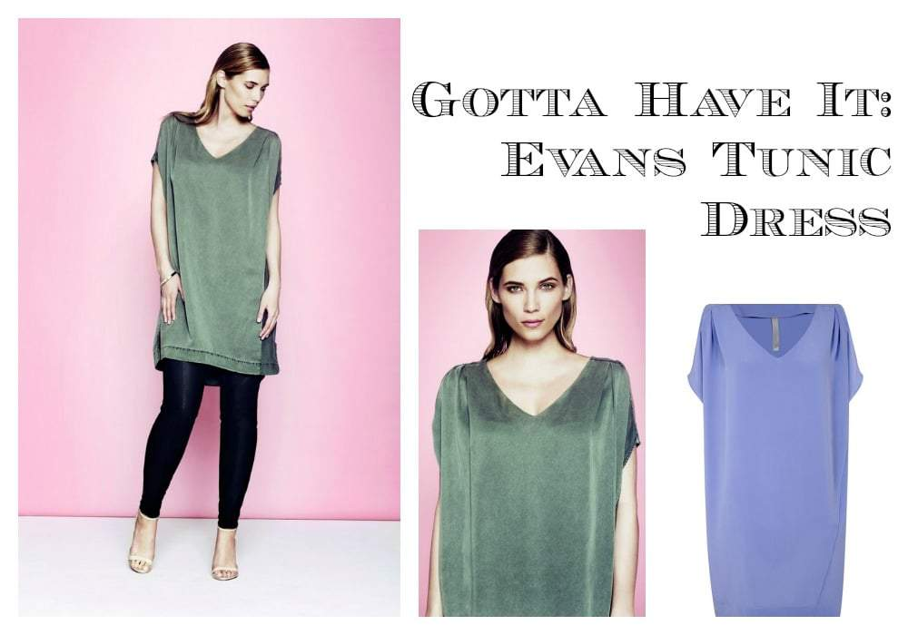 First Look: This Evans Tunic Dress