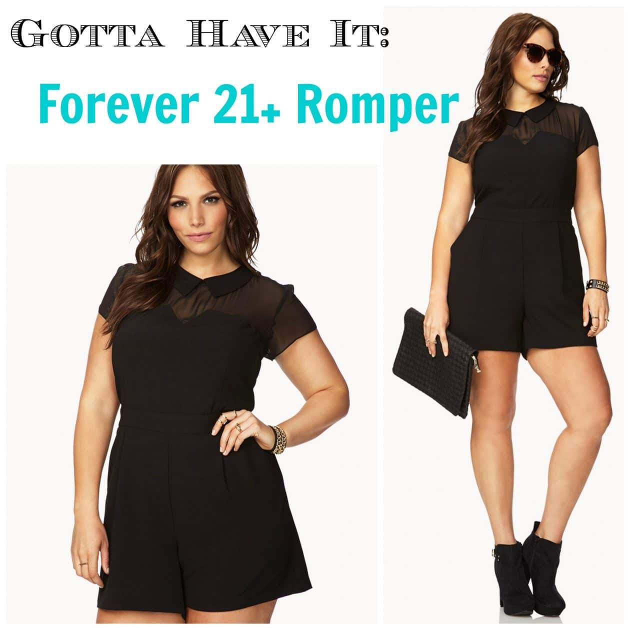b285a50525 Forever 21 Plus Size Romper Feature