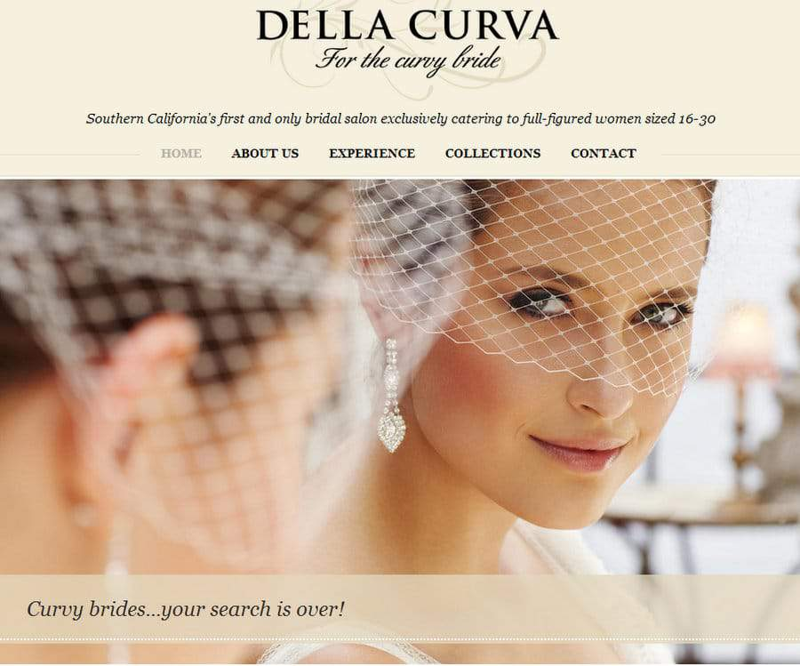 Plus Size Bridal Salon Della Curva Opening Soon!