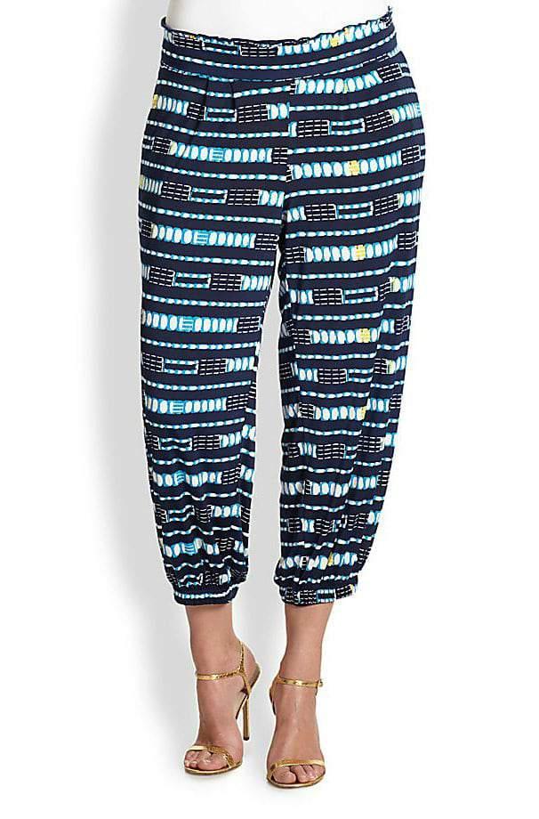 Gotta Have It: T BAGS LA Plus size patterned ankle pants