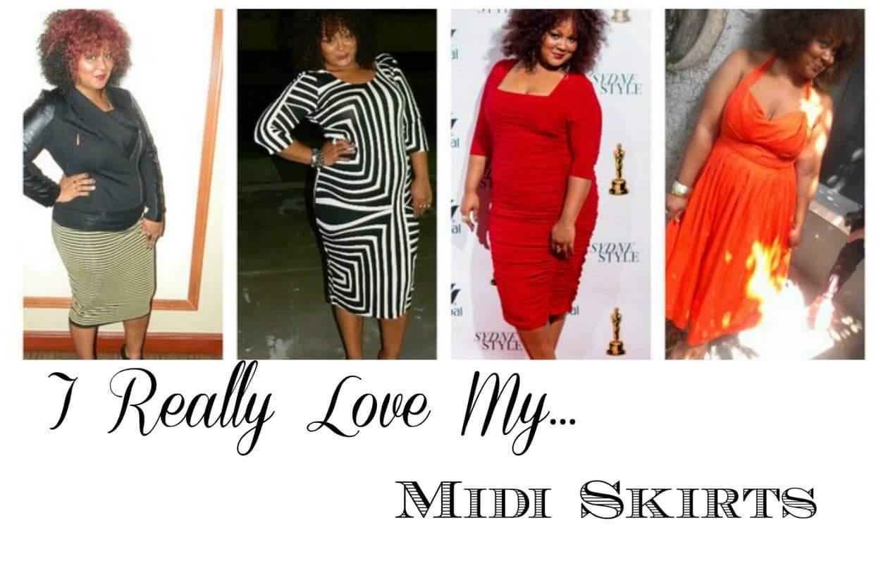 Midi Skirt Fall 2013 trend