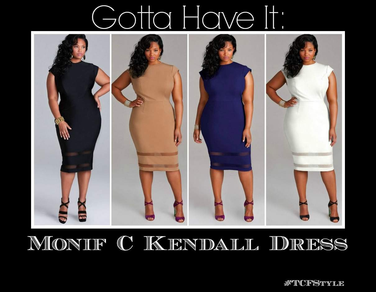 Monif C Plus sizes Kendall Dress