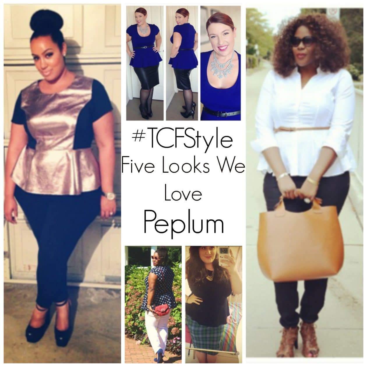 #TCFStyle FLWL Peplum