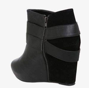 Torrid Wide Width Wedge Booties Side