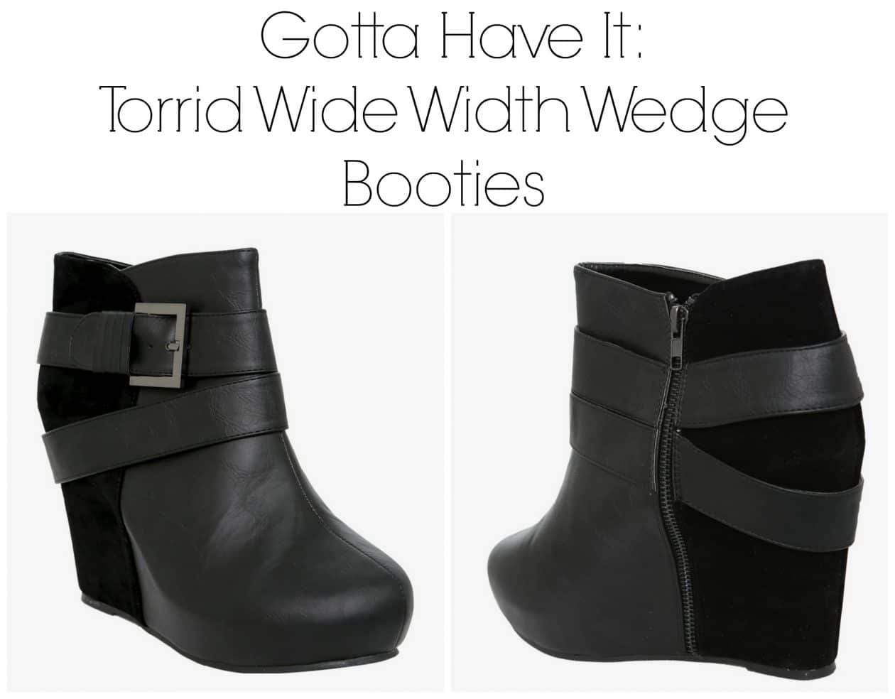Gotta Have It: These Torrid Wide Width Booties