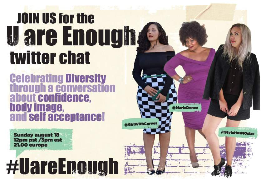 UareEnough Twitter Chat