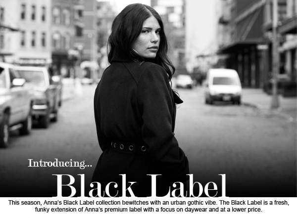 Anna Scholz Fall 2013 Black Label featuring Denise Bidot and Clementine Desseaux