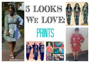 five plus size style looks we love: prints