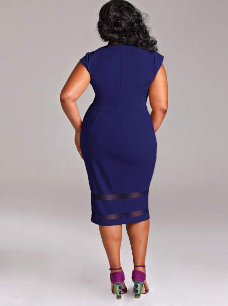 Monif C Plus Sizes Kendall Dress