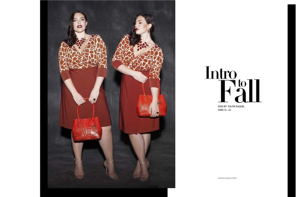 First Look- Plus Size Designer, Igigi Releases its Intro to Fall Look Book- It's Nice