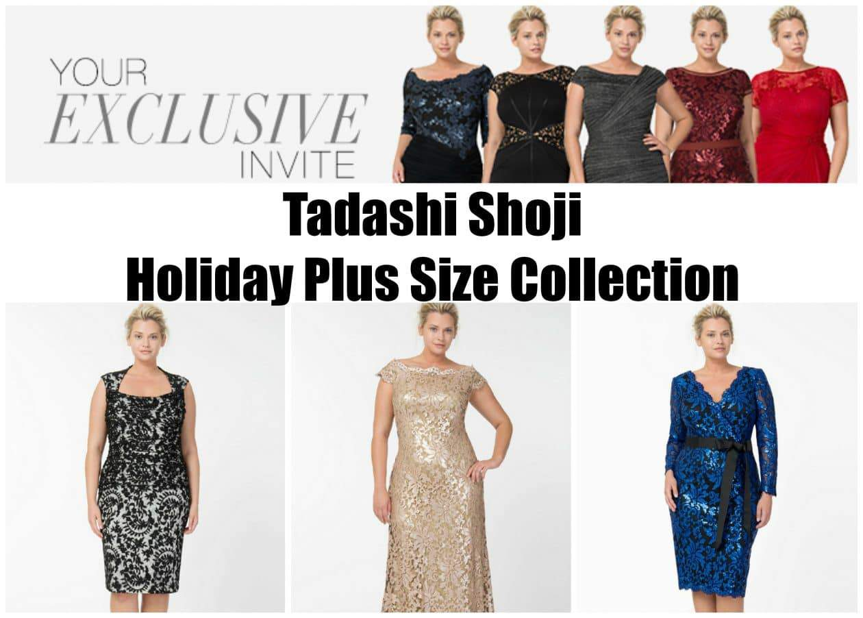 Tadashi Shoji 2013 Plus Size Holiday Collection