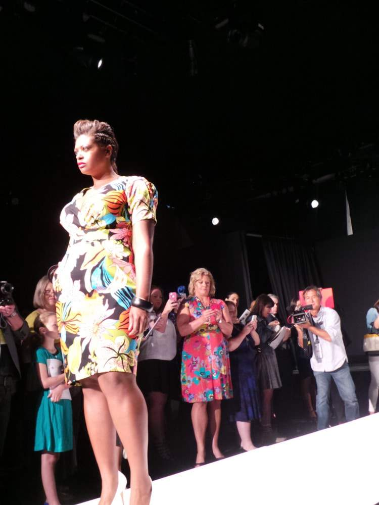 First Plus SIze Designer at Mercedes Benz Fashion Week- Cabiria