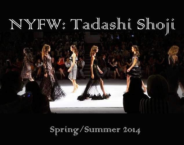 Tadashi Shoji Spring 2014
