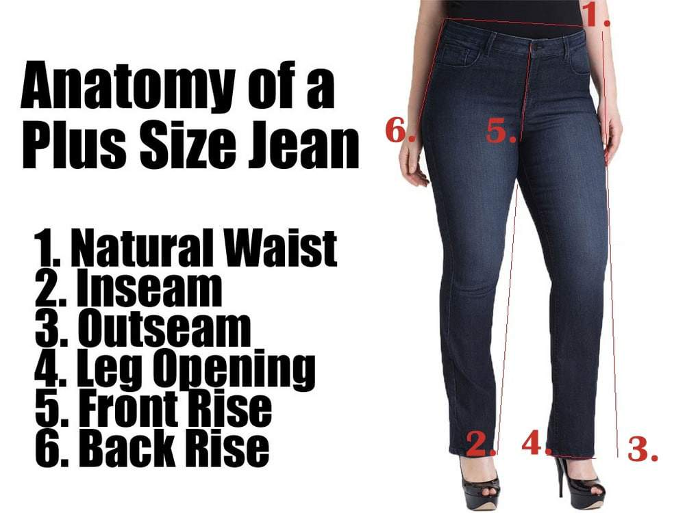 459e4502d72 Style 101  Your Plus Size Jeans Guide- The Fit and Style Guide