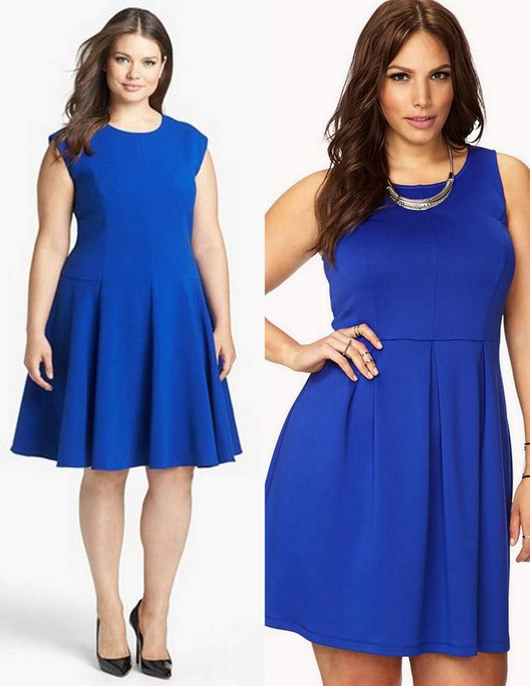 Plus size steal vs splurge- plus size dresses